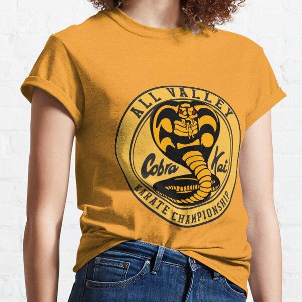 Cobra Kai Vintage Cobra Kai Karate Kid inspirierte Kinder T-Shirt schwarz Classic T-Shirt