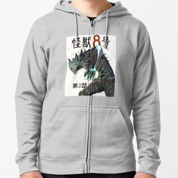 Kaiju No. 8 Zipped Hoodie