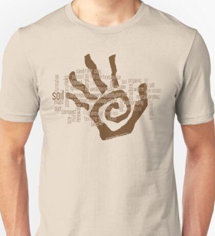 Soil Field Study Words (scb) T-Shirt