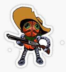 Robot Bandito Sticker