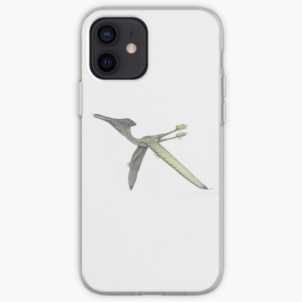 Pterodactyl in sneakers iPhone Soft Case