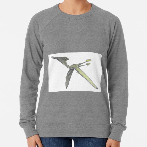Pterodactyl in sneakers Lightweight Sweatshirt