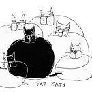 fat cats by Matt Mawson