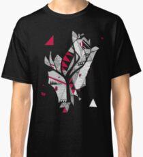 red, black, white Classic T-Shirt