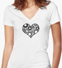 Heart Machine Women's Fitted V-Neck T-Shirt