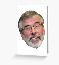 Gerry Adams Greeting Card
