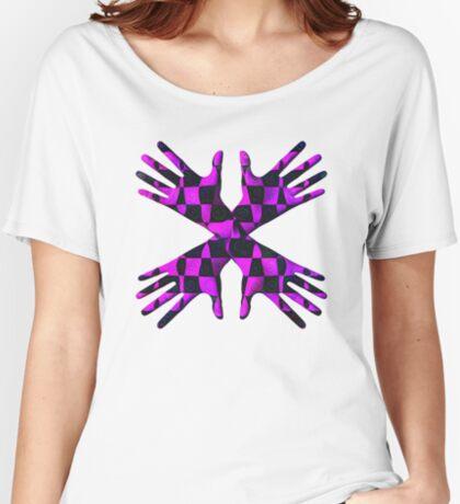 #DeepDream Gloves 5x5K v1456239375 Women's Relaxed Fit T-Shirt