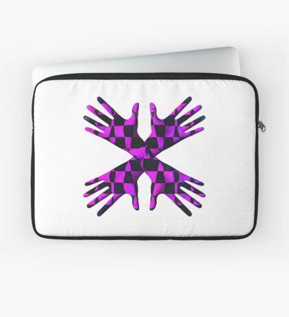 #DeepDream Gloves 5x5K v1456239375 Laptop Sleeve