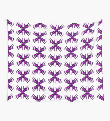 #DeepDream Gloves 5x5K v1456239375 Wall Tapestry