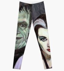 Lily and Herman Munster Leggings