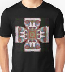 #DeepDream Masks 5x5K v1455625554 Unisex T-Shirt