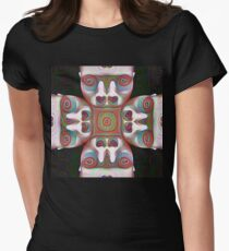 #DeepDream Masks 5x5K v1455625554 Fitted T-Shirt