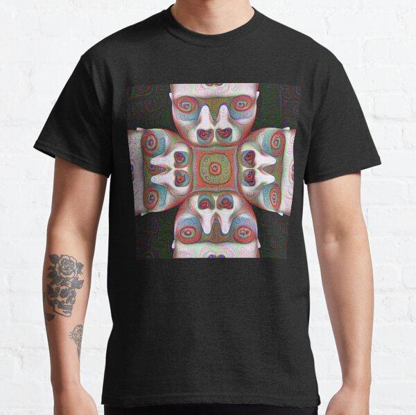 #DeepDream Masks Classic T-Shirt