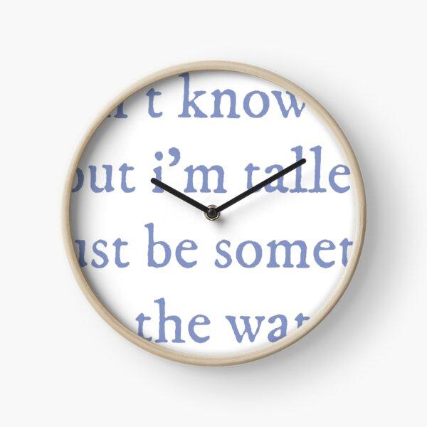 Garden Song Punisher  Clock