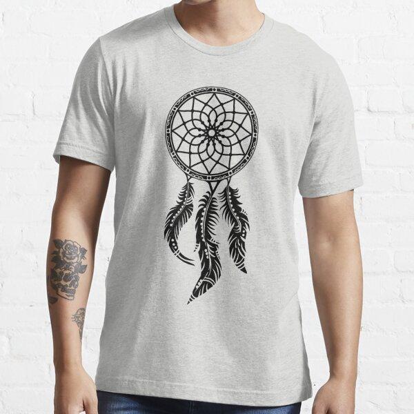 Traumfänger, dream catcher, dreamcatcher, Indianer, Federn, Schutzsymbol Essential T-Shirt