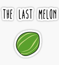 The last melon Sticker