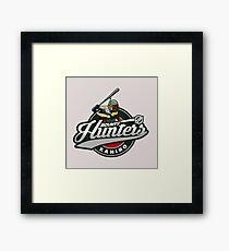 Bounty Hunters baseball  Framed Print
