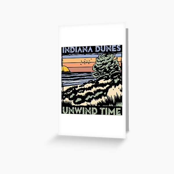 Unwind Dunes Greeting Card