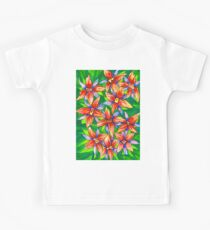 Exotic Flowers Kids Clothes