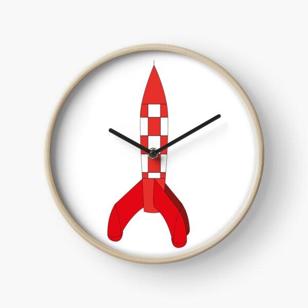 Fusée Tintin Horloge