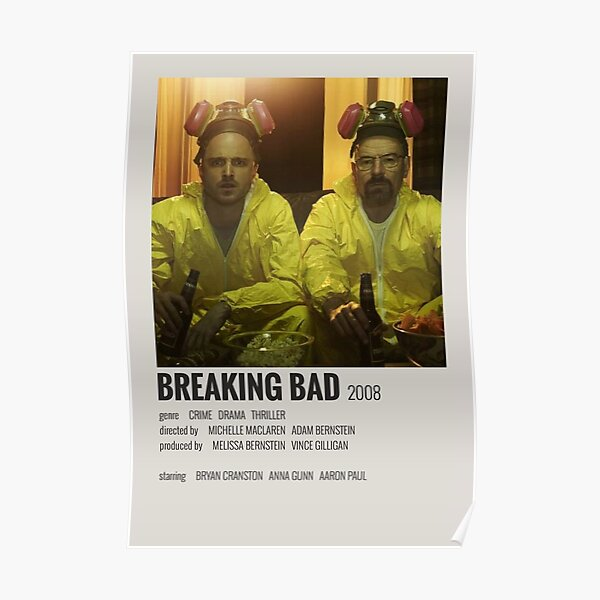 Breaking Bad Minimalistic Poster