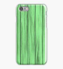 Light Green Beach House iPhone Case/Skin