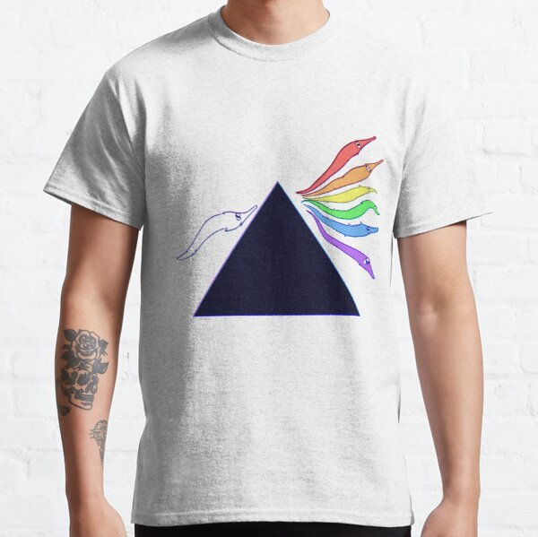 Worm Side of the Moon Classic T-Shirt