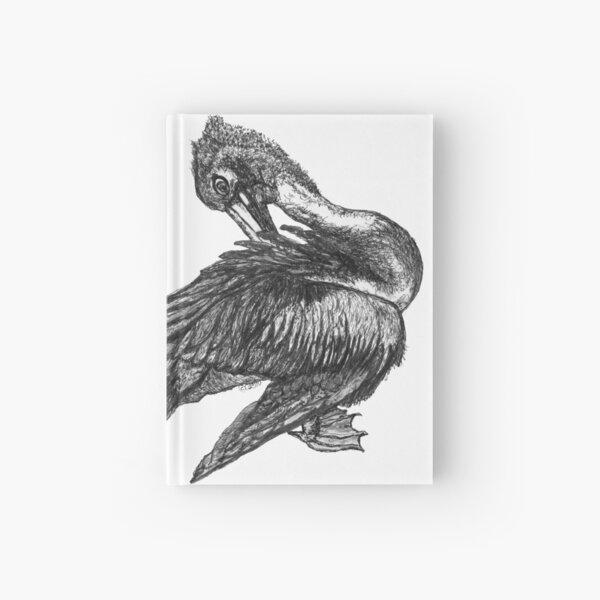 Percephone the Pelican Hardcover Journal