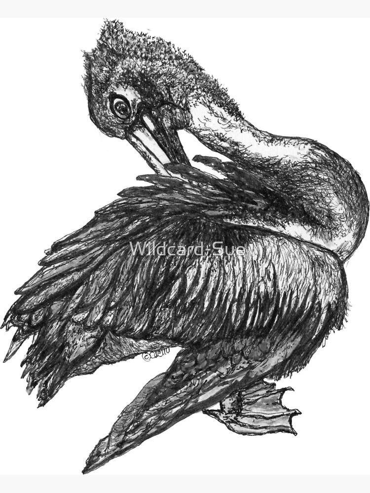 Percephone the Pelican by Wildcard-Sue