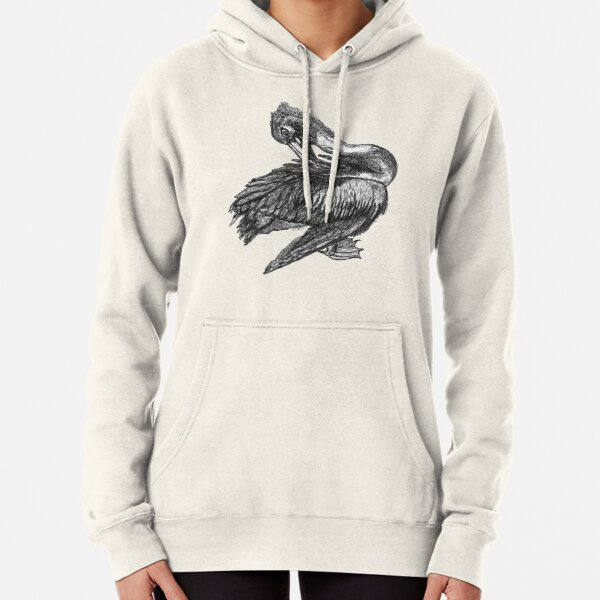 Percephone the Pelican Pullover Hoodie