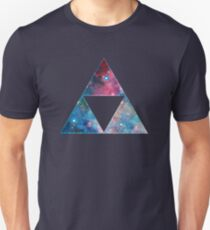 Triforce - Ancient Magical Symbol, Sierpinski Triangle Unisex T-Shirt