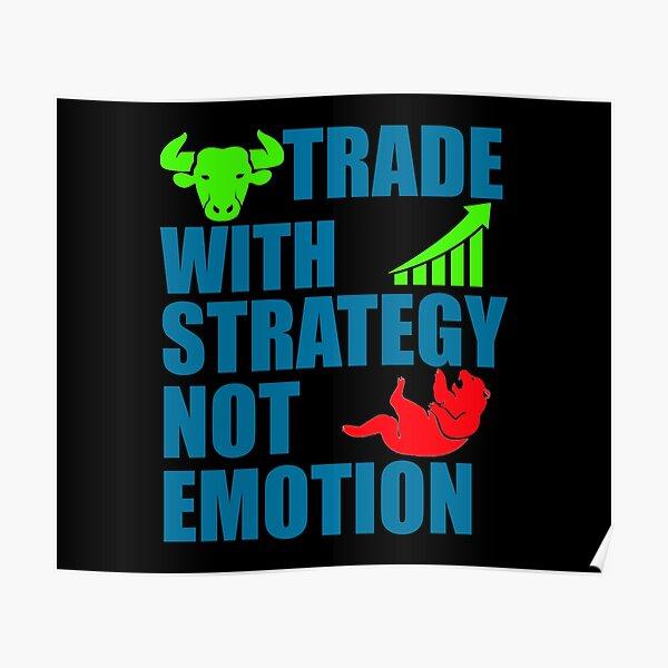 Comercio con estrategia Póster