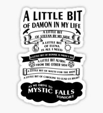 TVD Song Sticker