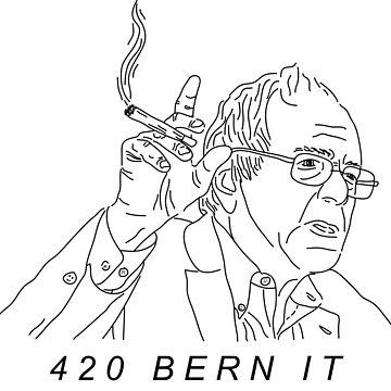 420 Berna es Bernie Sanders de PennySoda