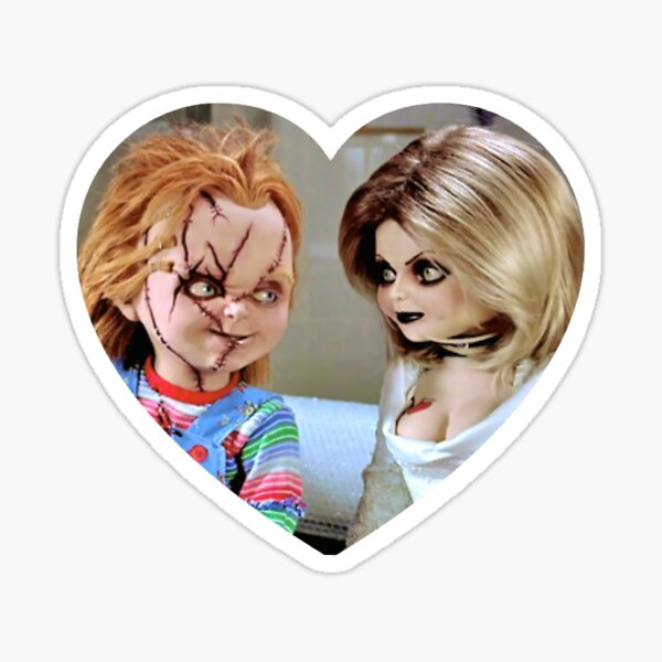 Chucky + Tiff Pegatina