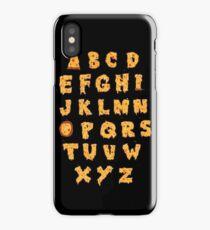 ABC O Pizza iPhone Case/Skin