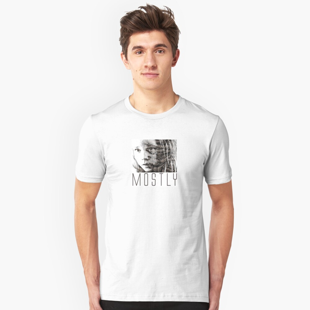 Mostly - Newt Unisex T-Shirt Front