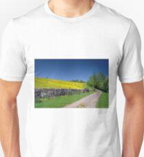 The Limestone Way, near Thorpe Unisex T-Shirt