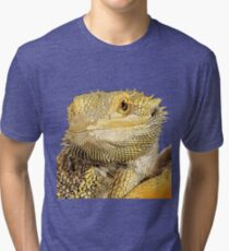 Bearded dragon Tri-blend T-Shirt