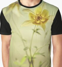 Yellow columbine flowers Graphic T-Shirt