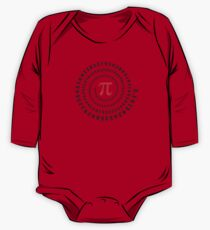 Pi, π, spiral, Science, Mathematics, Math, Irrational Number, Sequence One Piece - Long Sleeve