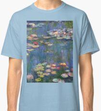 1916-Claude Monet-Waterlilies-200 x 200 Classic T-Shirt