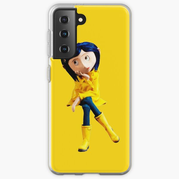 Coraline not Caroline Samsung Galaxy Soft Case