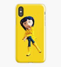 Coraline not Caroline iPhone Case