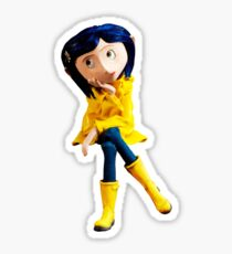 Coraline not Caroline Sticker