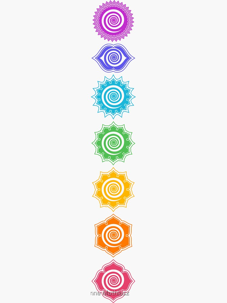 7 Chakras - Cosmic Energy Centers by nitty-gritty