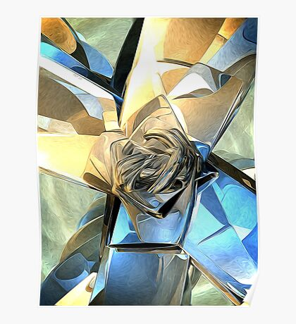 Abstract Macro Structure Poster