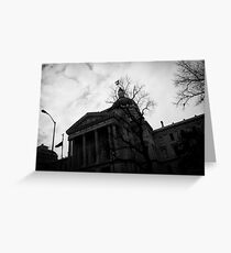 Capital Ave Greeting Card