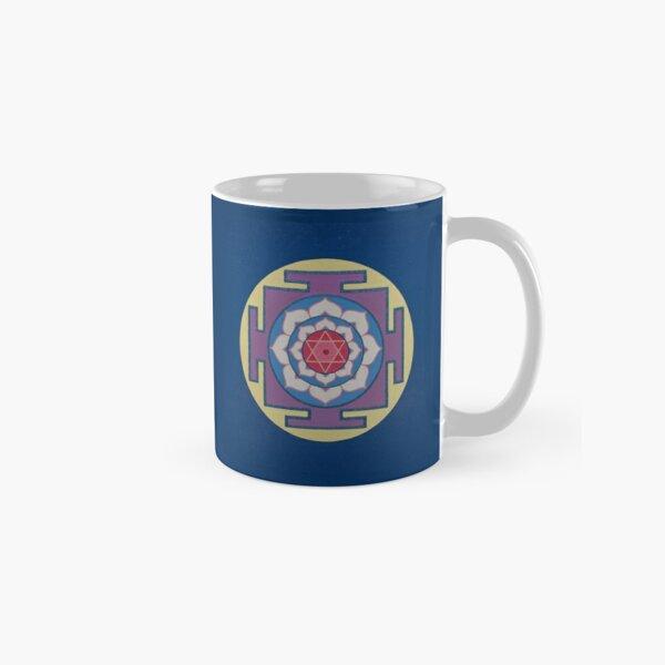 WISDOM  MANDALA (Yantra) - Yoga Art Design - scroll down Classic Mug