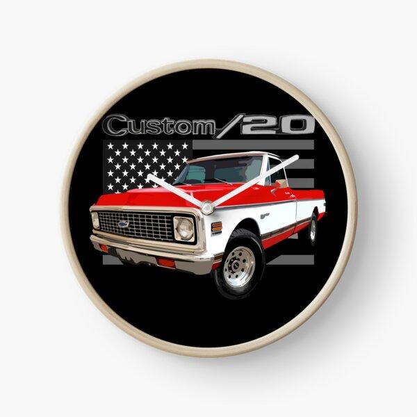 1972 Chevy C20  Clock